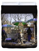 Keep Park Clean - Central Park - Nyc Duvet Cover