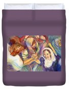 Keep Your Eyes On The Prize United Duvet Cover