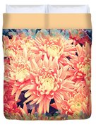 Keepsake Chrysanthemum  Duvet Cover