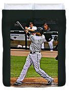 Ken Griffey Jr Painting Duvet Cover