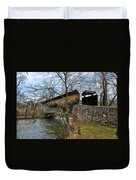 Kennedy Covered Bridge - Chester County Pa Duvet Cover