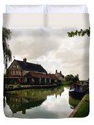 Kennett Amd Avon Canal Uk Duvet Cover