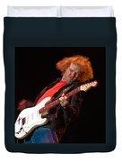 Kenny Wayne Shepherd Rocks His Stratocaster Duvet Cover