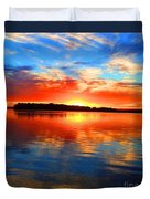 Kensington Sunset Duvet Cover