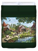 Kentish Farmer Duvet Cover