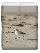 Kentish Plover Duvet Cover