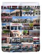 Kentlands Restaurants 2011 Duvet Cover