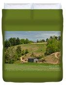 Kentucky Barn Quilt - Americana Star 2 Duvet Cover