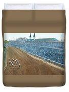 Kentucky Derby - Horse Race Duvet Cover