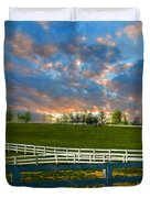 Kentucky Famous Horse Hotel Duvet Cover