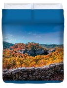 Kentucky - Natural Arch Scenic Area Duvet Cover