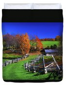 Kentucky Settlement Duvet Cover