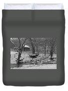 Kentucky Snow Duvet Cover