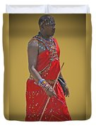 Kenya Warrior Duvet Cover
