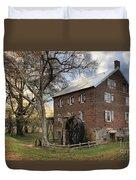 Kerr Grist Mill At Sloan Park Duvet Cover