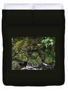 Ketchikan Riverbank Duvet Cover