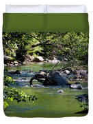 Keuka Seneca Outlet Trail Duvet Cover