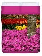 Keukenhof Floral Strata Duvet Cover