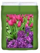 Keukenhof Gardens 40 Duvet Cover