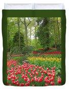 Keukenhof Gardens 53 Duvet Cover
