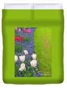 Keukenhof Gardens 55 Duvet Cover