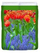 Keukenhof Gardens 6 Duvet Cover