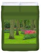Keukenhof Gardens 60 Duvet Cover