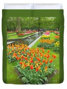 Keukenhof Gardens 70 Duvet Cover