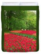 Keukenhof Gardens 88 Duvet Cover