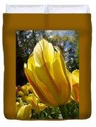Keukenhof Yellow Tulips Duvet Cover