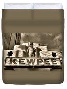 Kewpee Restaurant Duvet Cover
