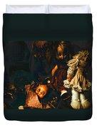 Kewpie's Bad Dream Duvet Cover