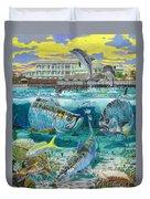 Key Largo Grand Slam Duvet Cover