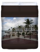 Key West Bayfront  Duvet Cover
