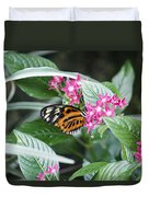 Key West Butterfly Conservatory - Monarch Danaus Plexippus 2 Duvet Cover