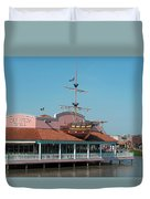 Key West Grill Duvet Cover