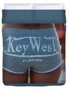 Key West Hot Pants At The Beach Duvet Cover
