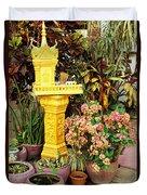 Khmer Shrine Duvet Cover