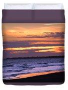 Kiawah Sunset Duvet Cover