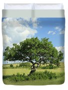 Kigelia Pinnata Tree Duvet Cover