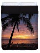 Kihei Sunset Duvet Cover