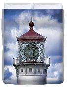 Kilauea Point Lighthouse Hawaii Duvet Cover