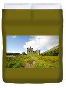 Kilchurn Castle 2 Duvet Cover
