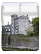 Kilkenny Castle Seen From River Nore Duvet Cover