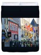 Killarney Ireland Storefronts 7690 Duvet Cover