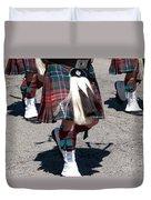 Kilts On Parade Duvet Cover