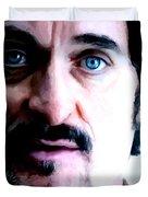 Kim Coates Large Size Portrait Duvet Cover