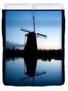 Kinderdijk Dawn Duvet Cover