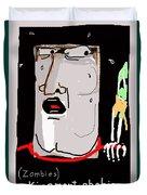 Kinemortophobia Duvet Cover