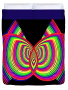 Kinetic Rainbow 27 Duvet Cover